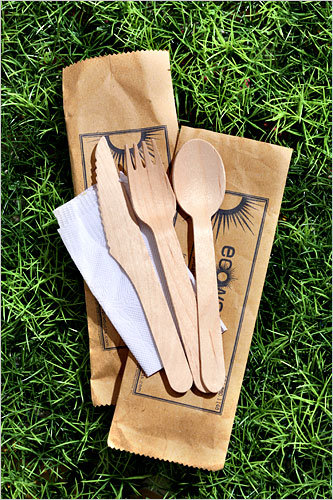 Pin It & Stylish Eco-Friendly Wooden Cutlery | Catch My Party