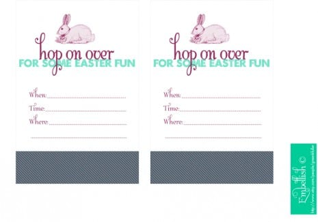 Free Easter Party Printables From Embellish  Catch My Party