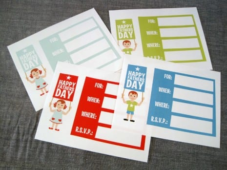 Father's Day invitations
