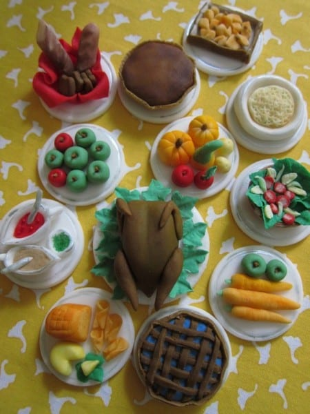 thanksgiving-etsy-thanksgiving-dinner-fondant-cupcaket-toppers