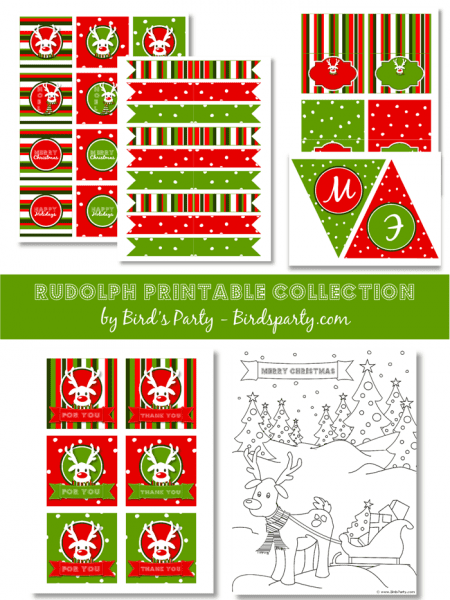 free-christmas-party-invitation-rudolph-reindeer-printable-decorations