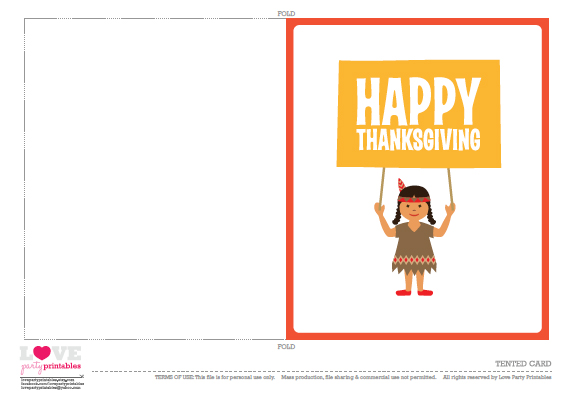 Free Thanksgiving Cards | CatchMyParty.com