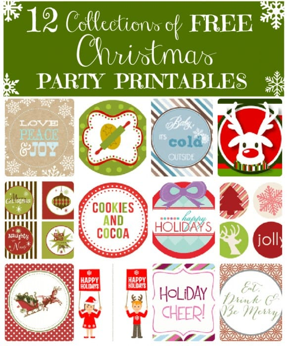 free-christmas-party-printables