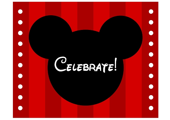 Free mickey minnie mouse birthday party printables from pin it filmwisefo