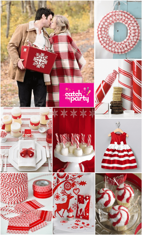 Superb Pinterest Christmas Party Ideas Part - 11: {GIVEAWAY} + My Candy Cane Christmas Pinterest Board | Catch My Party