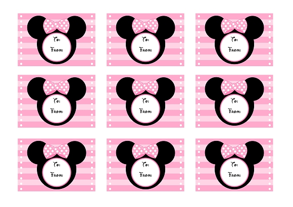 picture relating to Minnie Mouse Printable called Obtain These types of Totally free Crimson Minnie Mouse Get together Printables