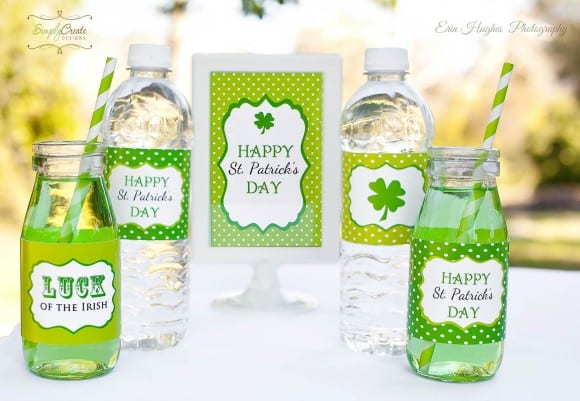 3Simply Create Designs StPatty