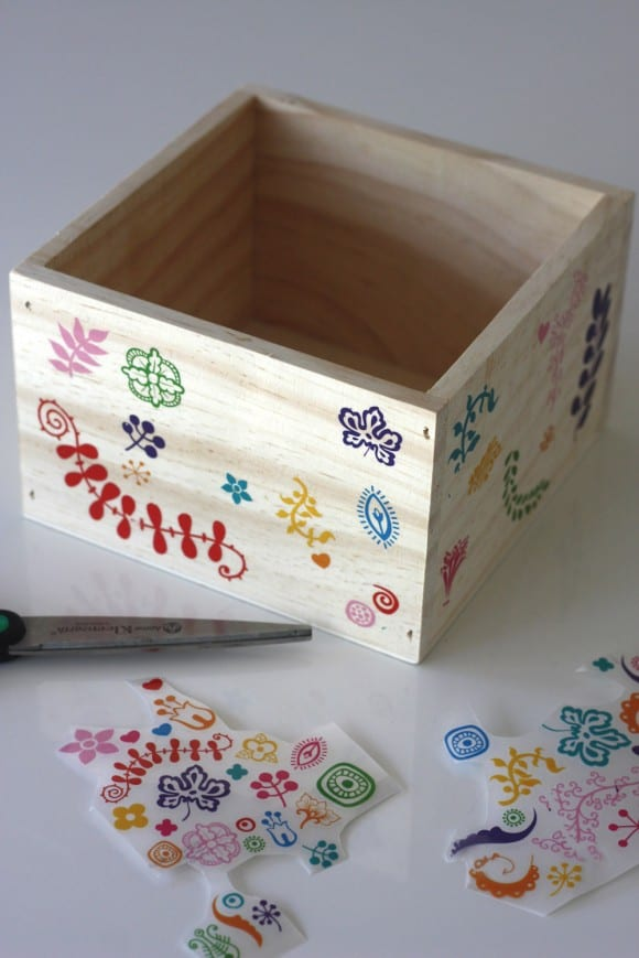 DIY Decorative Wooden Box For Easter Catch My Party Adorable How To Decorate Wooden Boxes