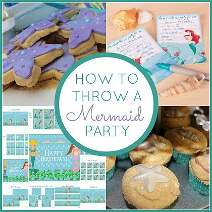 How to throw a Mermaid Party | CatchMyParty.com