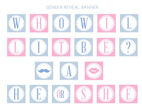 photograph regarding Gender Reveal Printable called Obtain All those adorable Free of charge Gender Make clear Printables! Capture