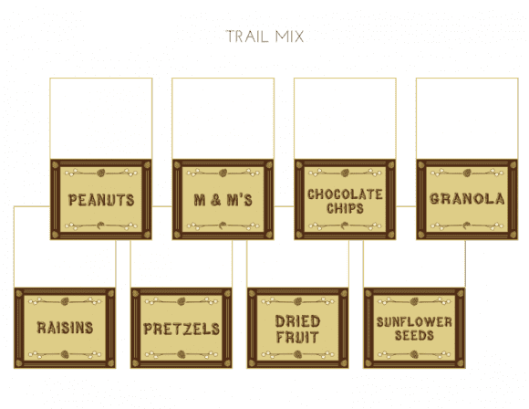 Free 'Shelter in Place' Camping Printables - Trail Mix Tented Cards