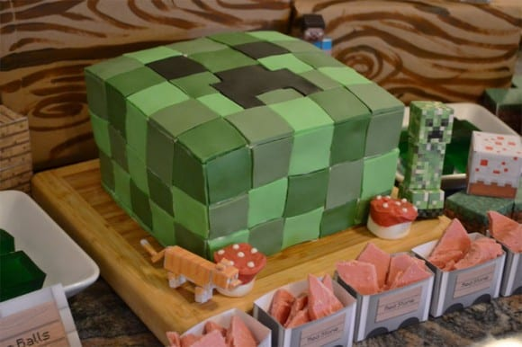 minecraft-birthday-party