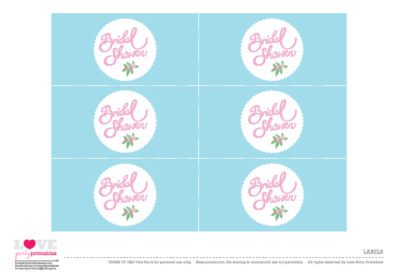 free-printable-bridal shower-labels