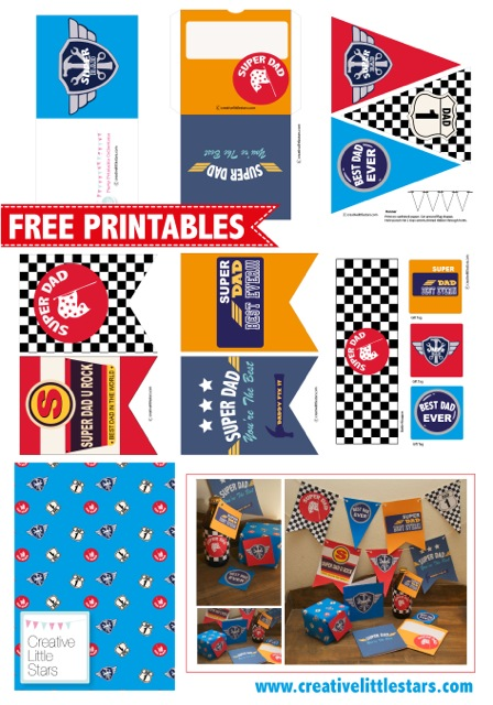 free race car father s day printables from creative little stars