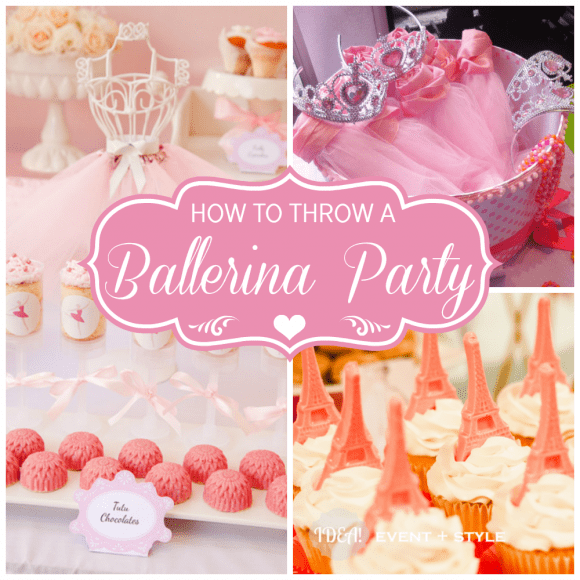 Ballerina parties | CatchMyParty.com
