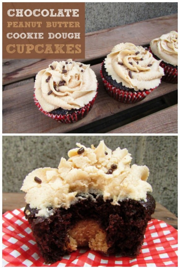 chocolate-peanut-butter-cookie-dough-cupcakes
