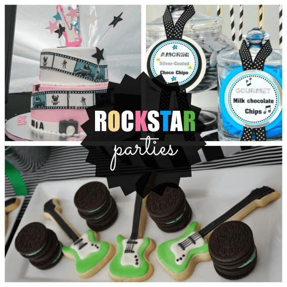 Rock Star Parties | CatchMyParty.com