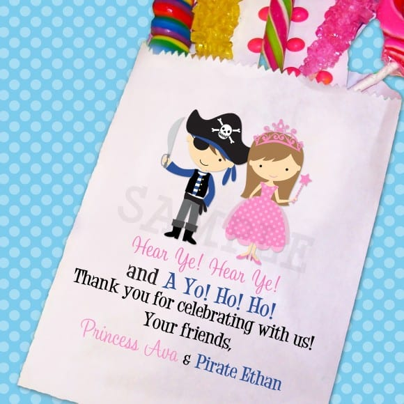 princess pirate goody bag