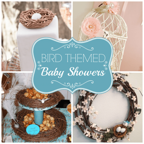 Bird themed baby showers | CatchMyParty.com