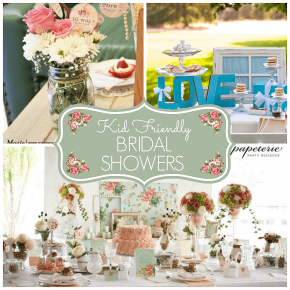 Kid friendly bridal shower ideas | CatchMyParty.com