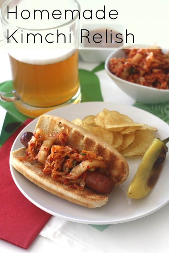 Hot Dogs With Kimchi Relish Recipe — Dishmaps
