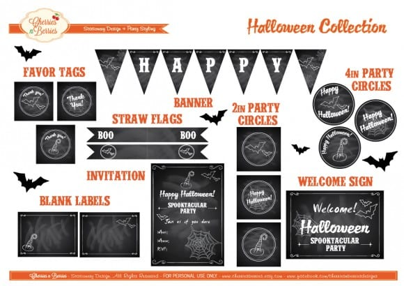 free-halloween-chalkboard-party-printables
