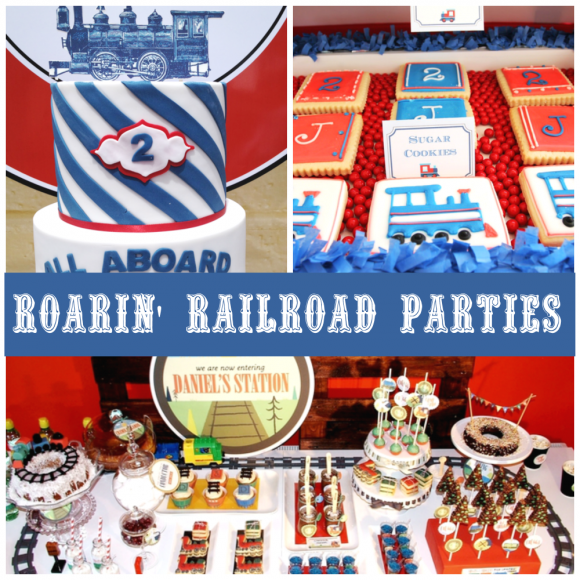 Roarin' Railroad Parties |CatchMyParty.com