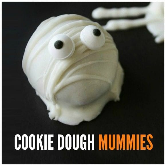 Cookie dough mummies |CatchMyParty.com