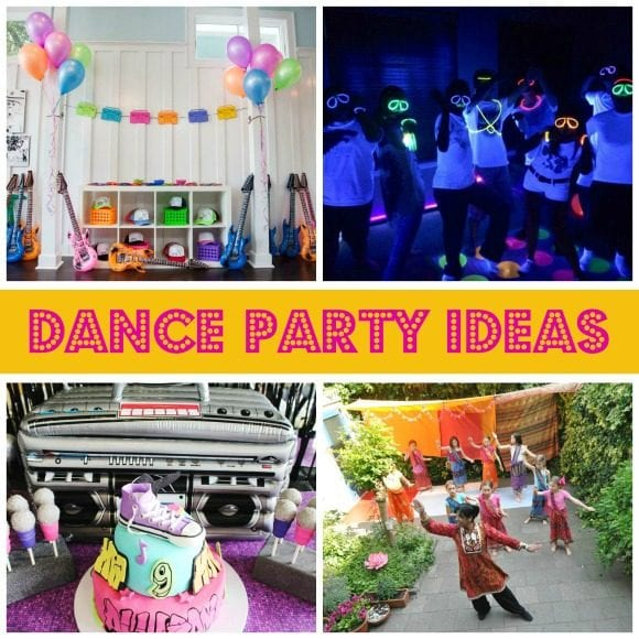 Dance Party Ideas | CatchMyParty.com