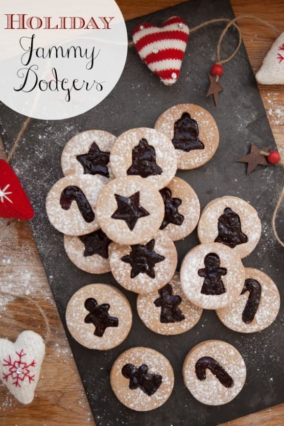 Holiday Jammy Dodger Cookie Recipe