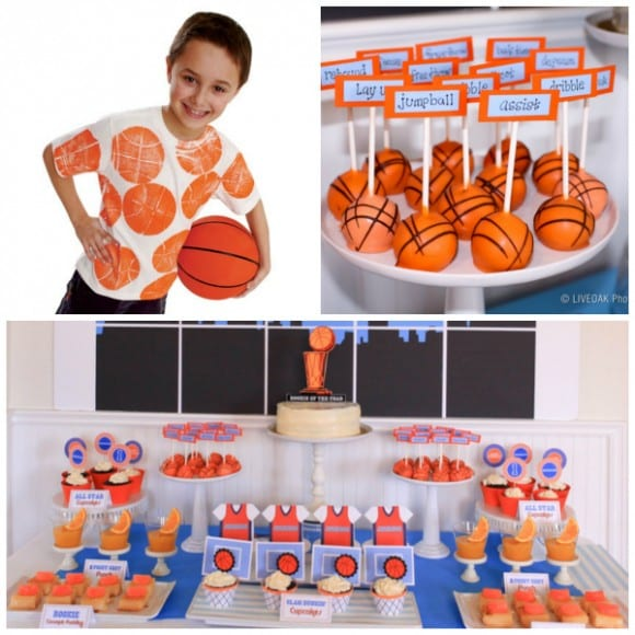 Basketball party ideas | CatchMyParty.com