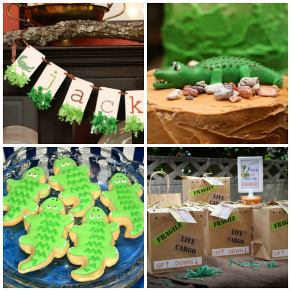 Alligator party ideas | CatchMyParty.com