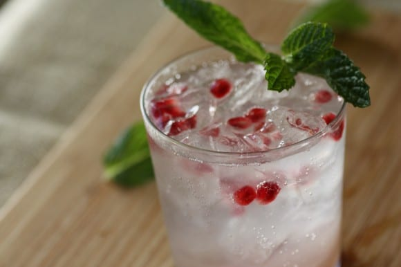 Winter Sea Breeze Holiday Cocktail Recipe | CatchMyParty.com