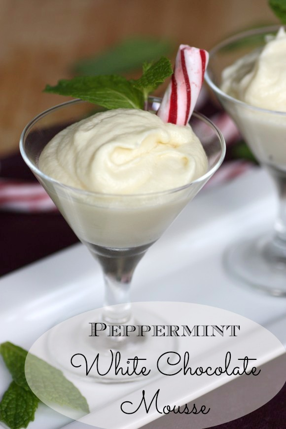 Peppermint white chocolate mousse recipe