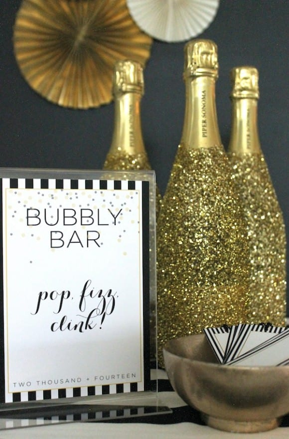 New Year's Eve Champagne Bar