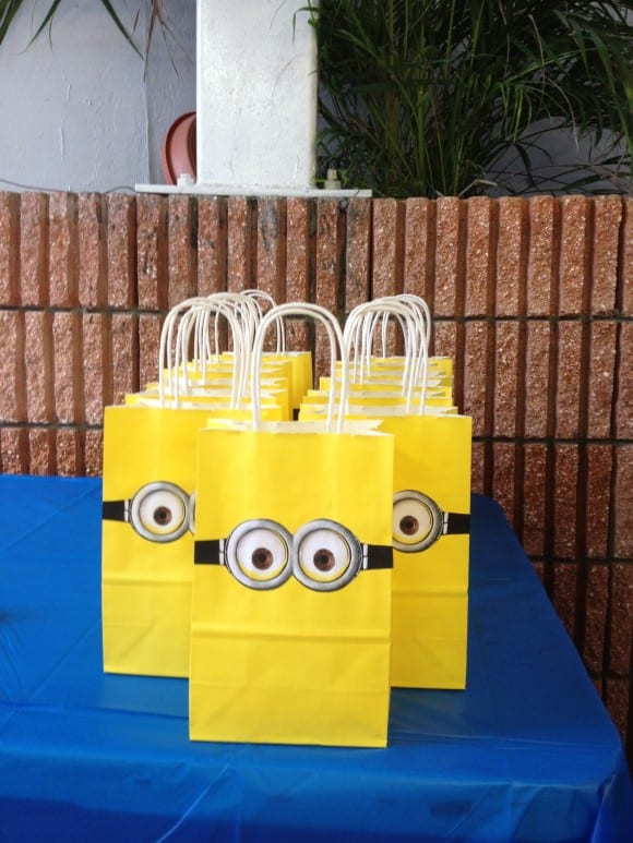 Despicable Me Favor Bags