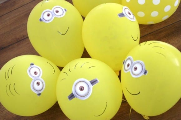Despicable Me Minion Balloons