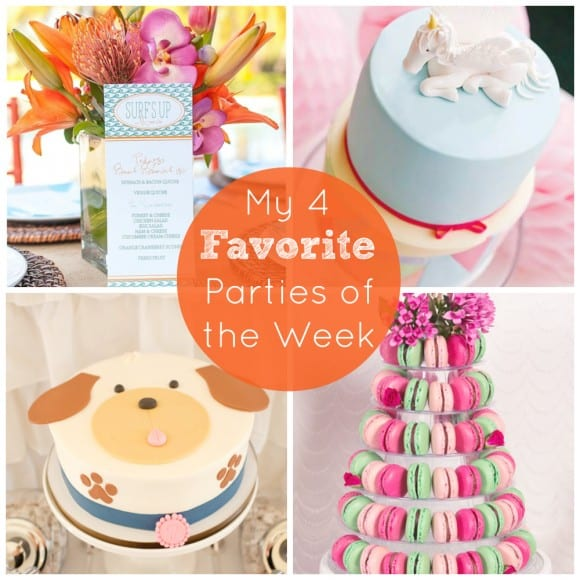 Four Favorite Parties of the Week