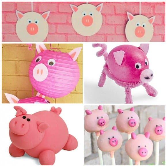 Pig Party Ideas | CatchMyParty.com