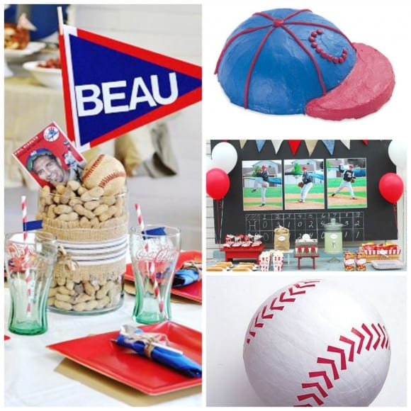 Baseball party ideas | CatchMyParty.com