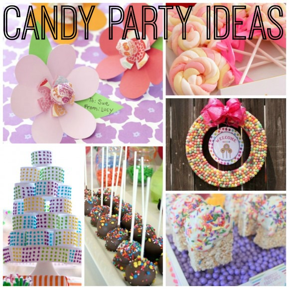 Candy Party Ideas| catchmyparty.com
