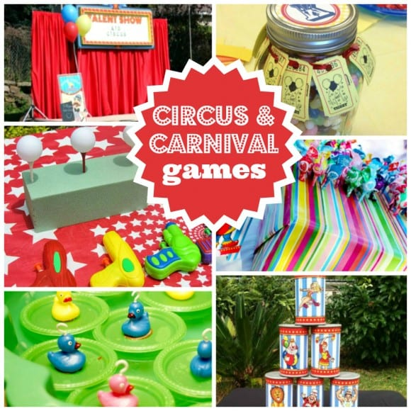 Circus Party Games | catchmyparty.com