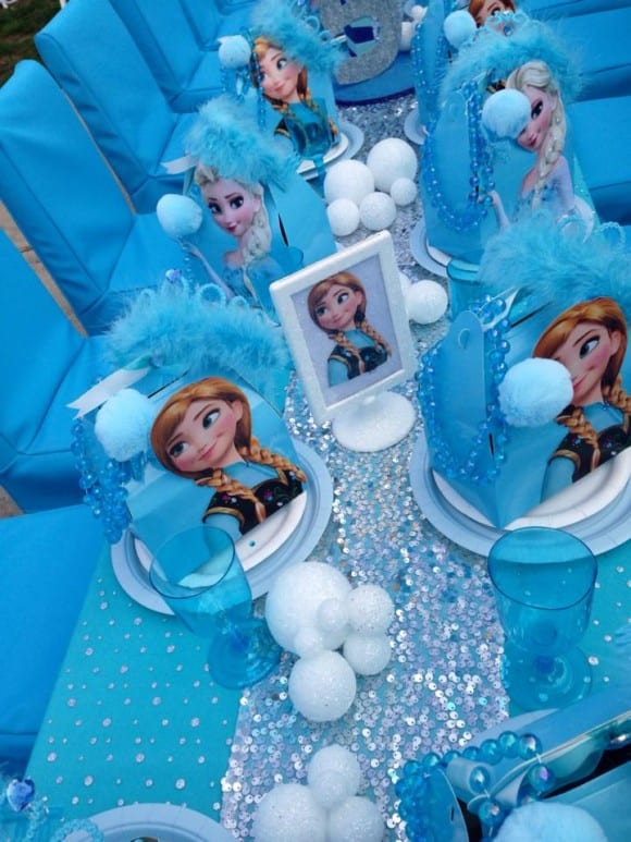 Frozen favors | catchmyparty.com