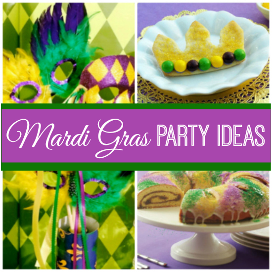 Mardi Gras Party Ideas | catchmyparty.com