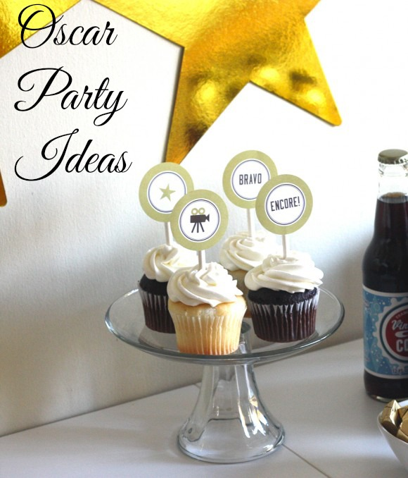 Oscar Party Ideas | CatchMyParty.com