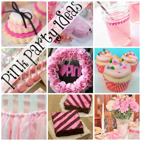 Pink Party Ideas | catchmyparty.com