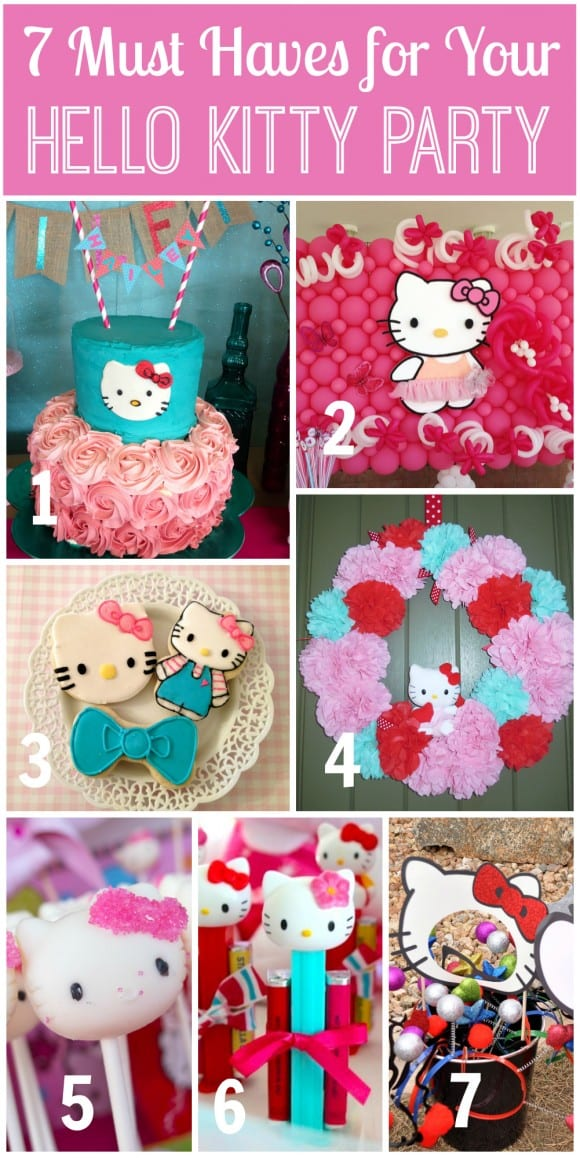 7 Must Haves for a Hello Kitty Party | CatchMyParty.com