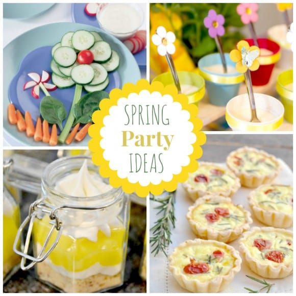 Spring Party Ideas | CatchMyParty.com