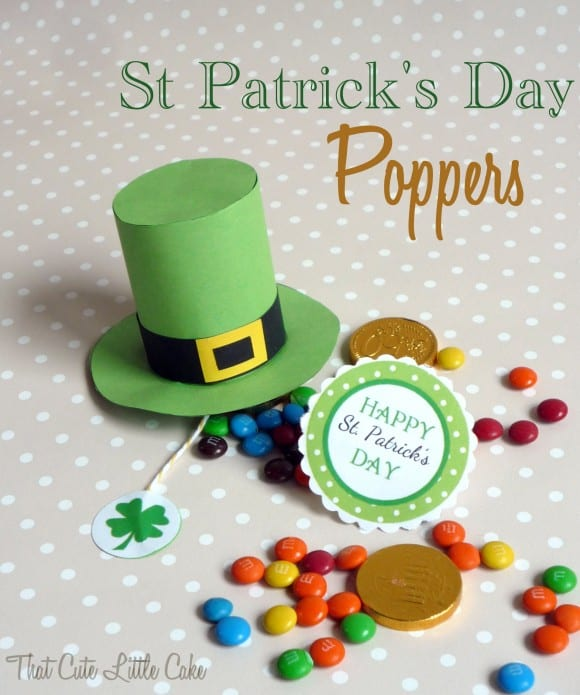St. Patrick's Day Leprechaun Hat Popper DIY | CatchMyParty.com