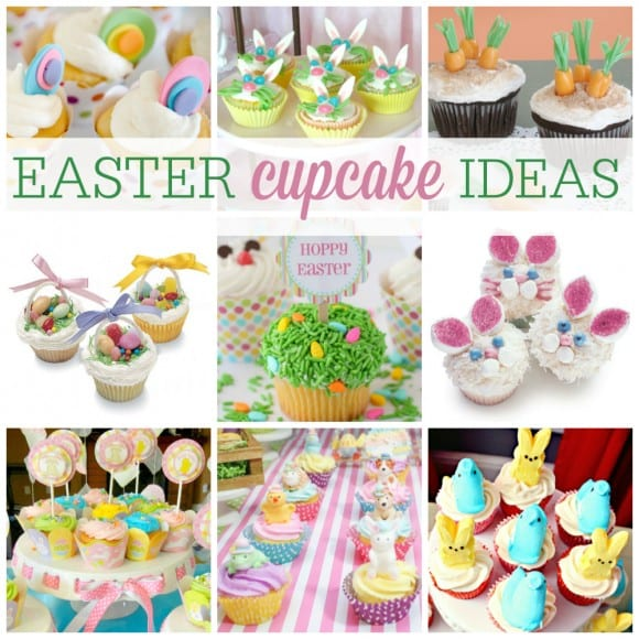 Easter Cupcake Ideas | CatchMyParty.com